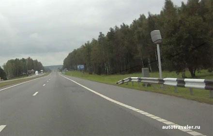 Камеры контроля скорости в Беларуси
