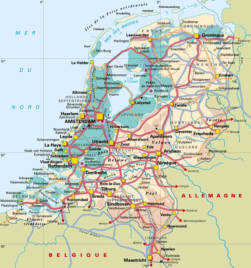 Hollantilainen tiekartta