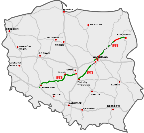В августе 2013 года открыт участок adamowice