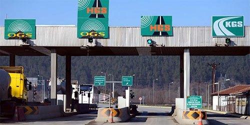 HGS-Autobahnspuren in der Türkei